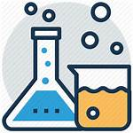 Lab Chemistry Apparatus Icon Laboratory Flask Glassware
