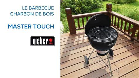 barbecue charbon de bois master touch weber 681349 castorama