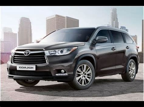 2019 Toyota Highlander Review Youtube