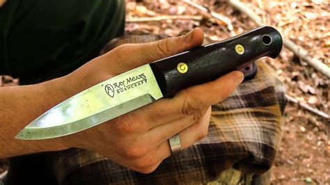 Bushcraft Review  The Ray Mears Knife Woodlore 2 Youtube