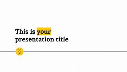 Template Powerpoint Minimal Google Slides Theme Clean