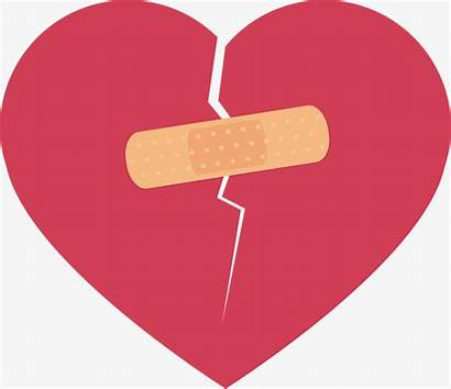 Heart Bandaid Clipart Broken Band Aid Vector