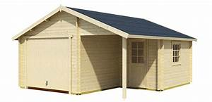 Fertiggaragen Aus Holz : garage mit spitzdach garage antigua mit spitzdach 44 mm la1026 satteldach carport holzgaragen ~ Whattoseeinmadrid.com Haus und Dekorationen