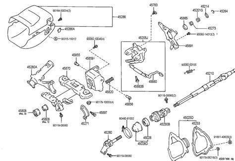 Toyota Avalon Steering Column Trim Piece