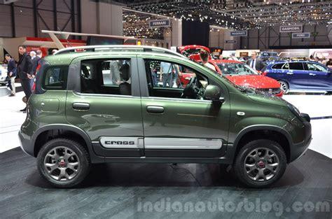 Fiat Panda 4x4 by Fiat Panda 4x4 Cross Side At The 2016 Geneva Motor Show