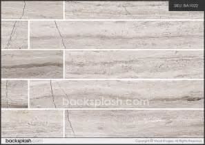 silver gray long subway modern marble backsplash tile