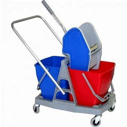 Bucket Trolley Wringer Double Charnock Mopping Mop