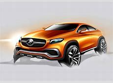 MercedesBenz Concept Coupe SUV Officially Revealed