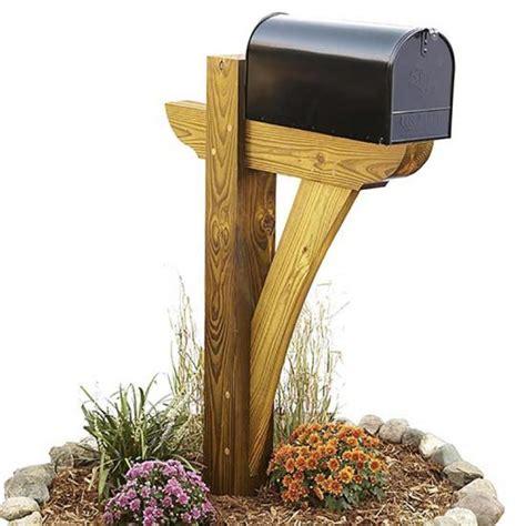 timber framed mailbox wood magazine