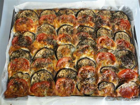 recette de cuisine avec aubergine tian d 39 aubergines et tomates à la mozarella les