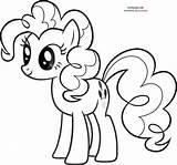 Pony Coloring Pie Pinkie Cartoon Mlp Colouring Pinky Printable Sheets Sheet Ponies Colour Bookmark Google Friendship Magic Balloons Boyama Kolorowanki sketch template