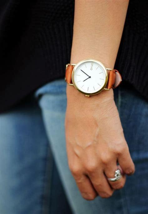 comment porter une montre pour une femme