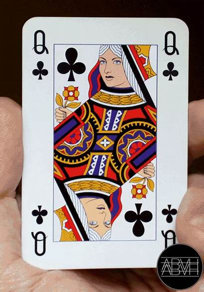 Cards Playing Animated Gifs Card Queen Animation