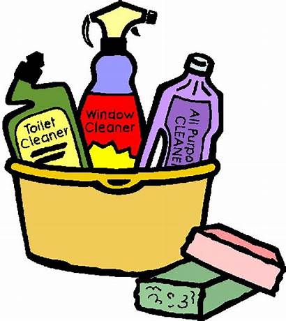 Cleaning Caddy Schedule Supplies Tub Clean Sink