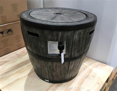 gas fireplace insert rocks barrel pit pit design ideas