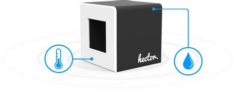 taux d humidité chambre bebe hector le thermomètre et hygromètre connecté breizhfunding