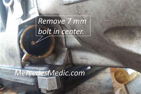 mercedes benz p p p transmission problem