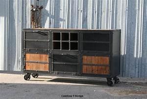 Buy a Hand Made Liquor Cabinet/ Bar Cart Industrial