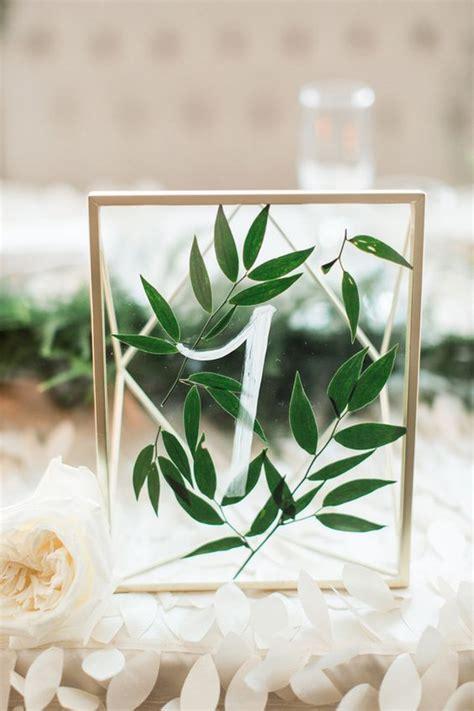 ways  display  wedding table numbers   puff