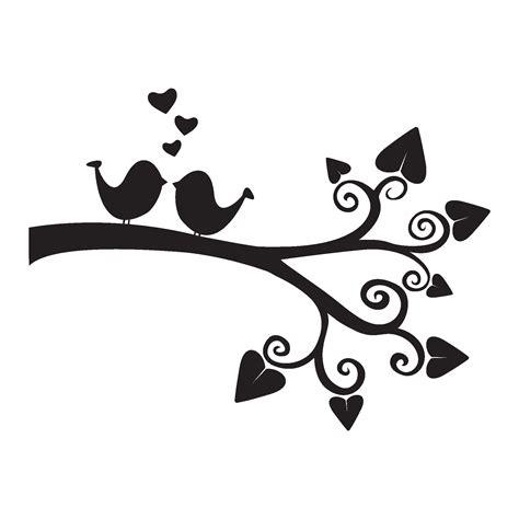 Black And White Cute Bird Clip Art