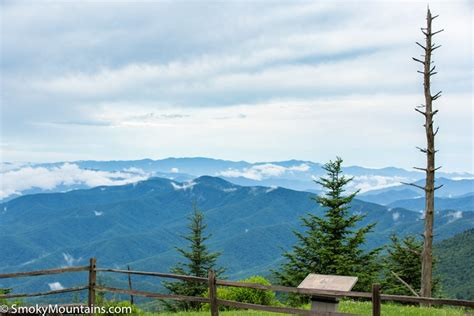 clingmans dome hike directions weather