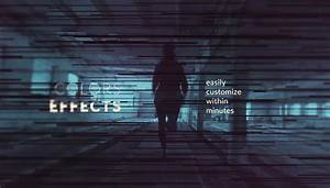 calibrate monochrome title sequence after effects template With after effects text templates