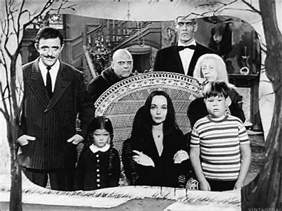 Addams Munsters Gifs Thing Halloween Tv Snaps