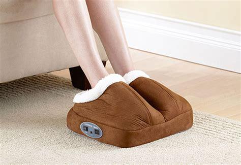 under desk foot massager warming foot massager sharper image