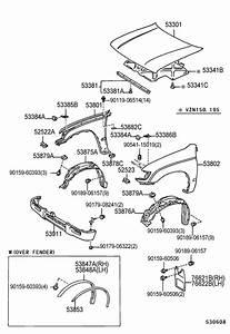 32 2003 Toyota Tacoma Parts Diagram