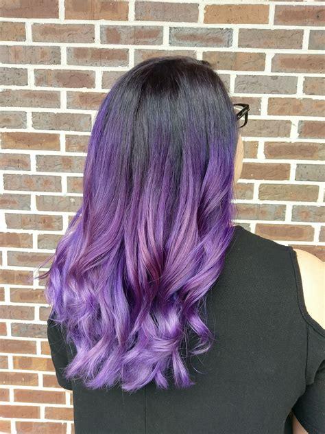 important      dye  hair purple
