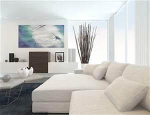 Weiße Möbel Wohnzimmer : wei e m bel welche wandfarbe ~ Orissabook.com Haus und Dekorationen