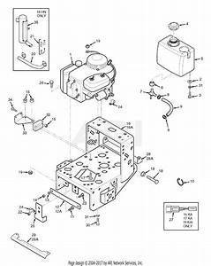 Scag Swz-17ka  S  N A3100001-a3199999  Parts Diagram For Engine Deck