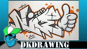 How To Draw Graffiti Letters | gplusnick