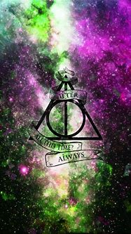 Harry Potter Deathly Hallows Green Purple After All This ...