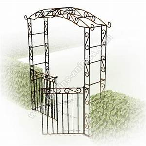 Arche Metal Pour Plante Grimpante : portillon 2 battants pour arche pagode arches kiosque et ~ Premium-room.com Idées de Décoration