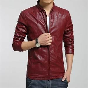 Veste En Cuir Rouge Homme : le blouson cuir homme symbole de masculinit ~ Melissatoandfro.com Idées de Décoration