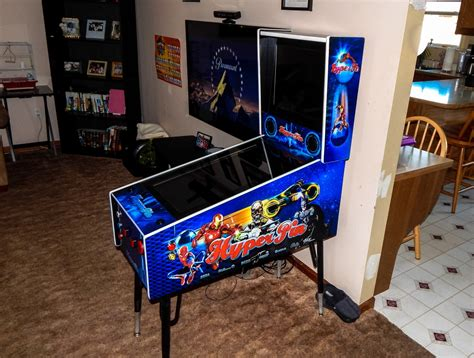 pinball cabinet build completed tredog s mini pin arcade cabinet