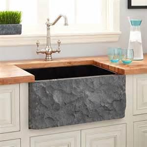 black farmhouse kitchen sink quicua