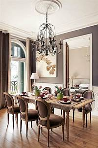 dining room decor 10 Dining Room Designs with Damask WallPaper Patterns ...