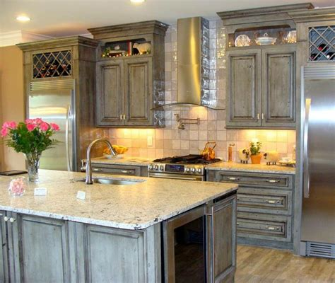 home kitchen cabinets 2013 parade of homes winner andino white leathered 1660