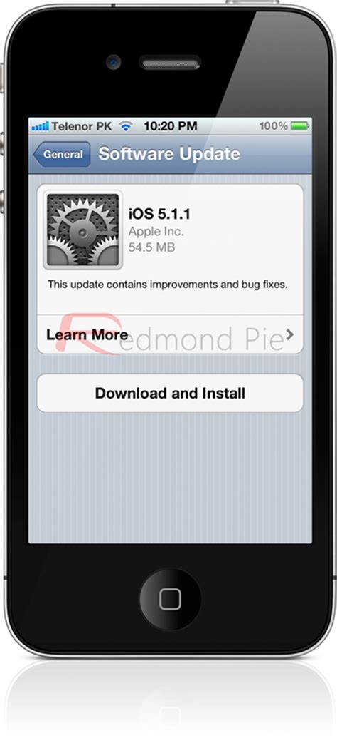 software update iphone ios 5 1 1 for iphone 4s 4 3gs and ipod