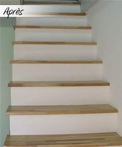 Marche D Escalier En Chene : r novation d escalier sur mesure le blog du bois ~ Melissatoandfro.com Idées de Décoration