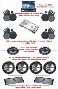 Car Sound System Diagram Sound System Diagram  I Like The Setup But Am Really Curious How The