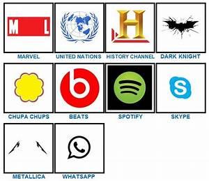 100 Pics Quiz Logos Level 91 - 12.000 vector logos