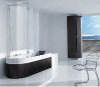 The Best Walk In Shower And Bath Combinations Shower Tub Combination From Roca Happening Combination