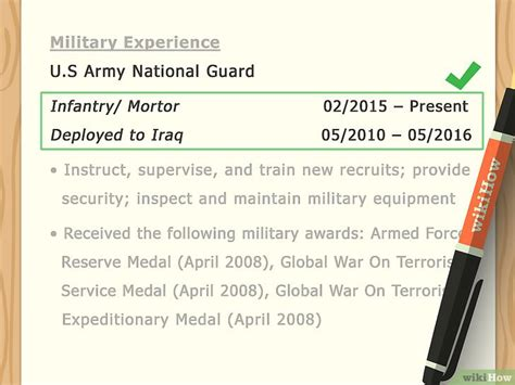 How To Add Experience To A Resume by 3 Formas De A 241 Adir Experiencia Militar A Tu Curr 237 Culo