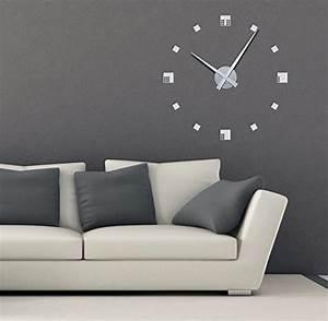 Wanduhr Design Wohnzimmer : wandtattoo uhr ~ Buech-reservation.com Haus und Dekorationen