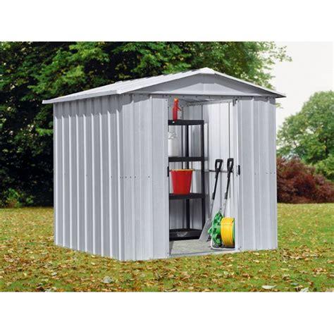sheds at argos buy yardmaster apex metal garden shed 6 x 6ft at argos