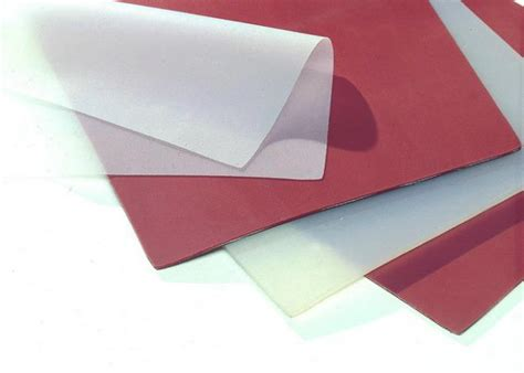 clear silicone rubber sheet for wooden pvc vacuum