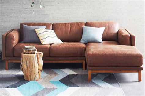 pottery barn turner leather sofa turner sofa quick ship turner square arm leather sofa